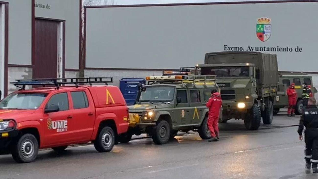 La UME se incorpora a las labores de búsqueda del operario desaparecido en el Puerto de San Isidro