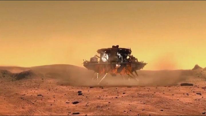Marte protagoniza un 2021 crucial en la exploración espacial