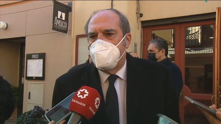 """Gabilondo pide a la Comunidad que no haga """"confrontación""""  en un asunto """"determinante"""" como las vacunas"""