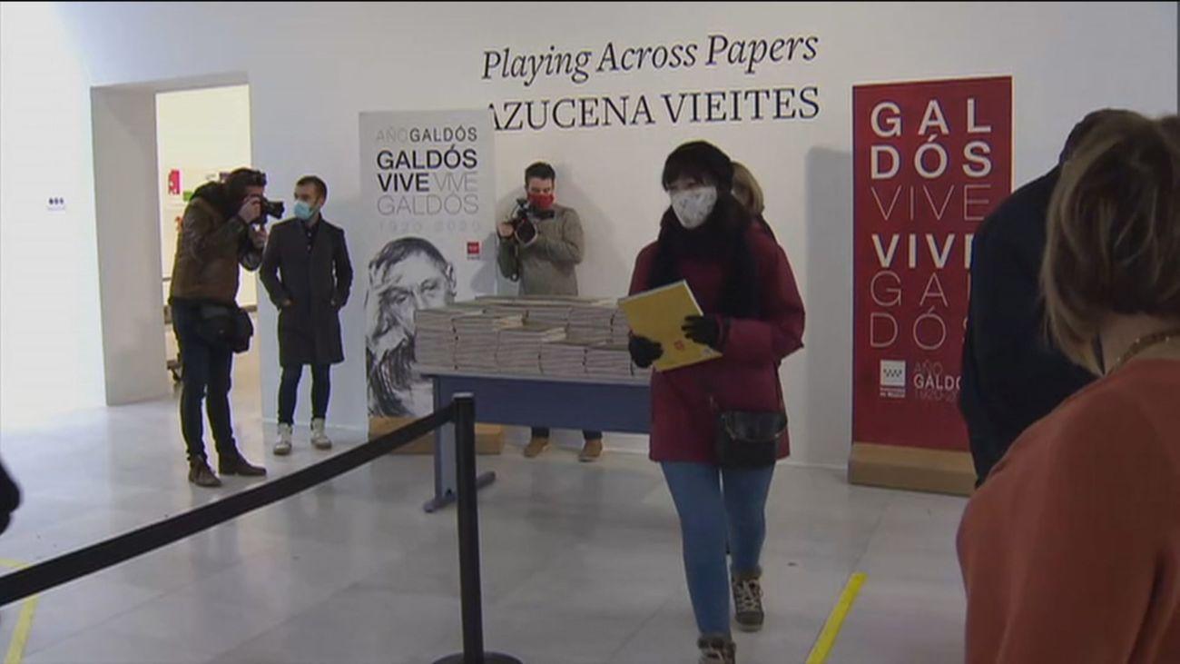 Madrid clausura el Año Galdós repartiendo ejemplares del cómic 'Galdós, un escritor en Madrid'
