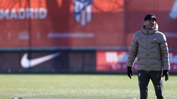 """Simeone y los jugadores del Atlético están de acuerdo: """"No podemos relajarnos"""""""