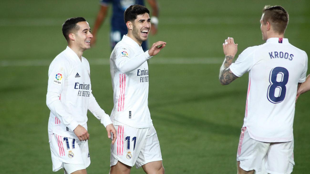 El Real Madrid vence con solvencia al Celta con un gran partido de Asensio