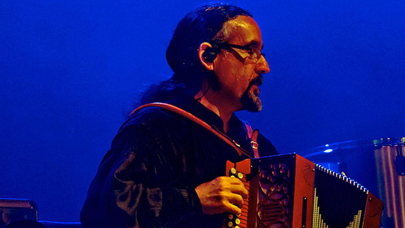 Bieito Romero, líder de Luar Na Lubre