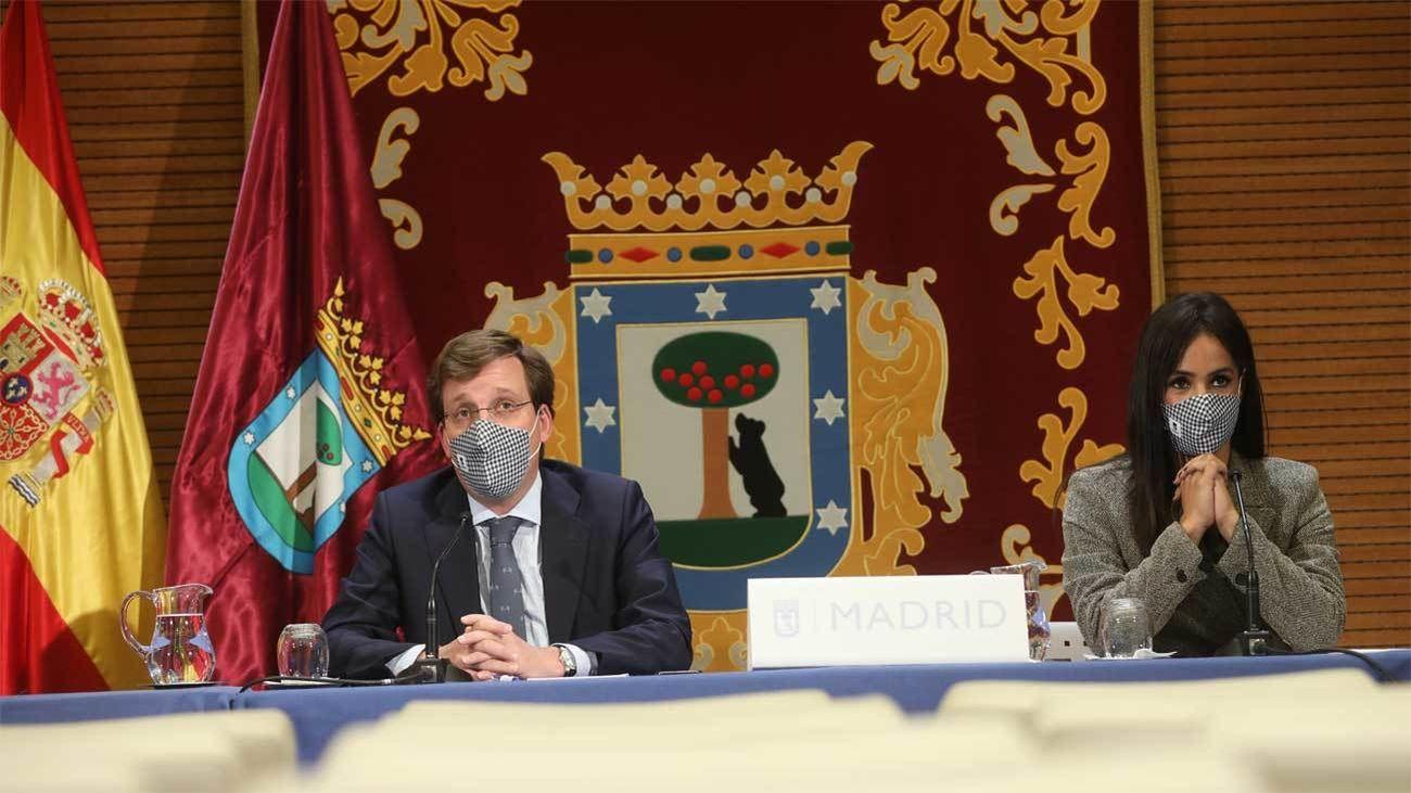 Almeida y Villacís comparecerán este jueves juntos tras 'blindar' la continuidad del Gobierno municipal