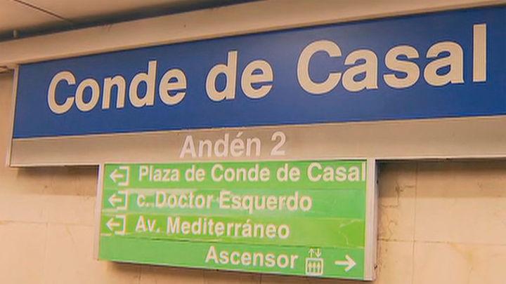 La estación de Metro de Conde de Casal estará cerrada por obras durante un mes en verano