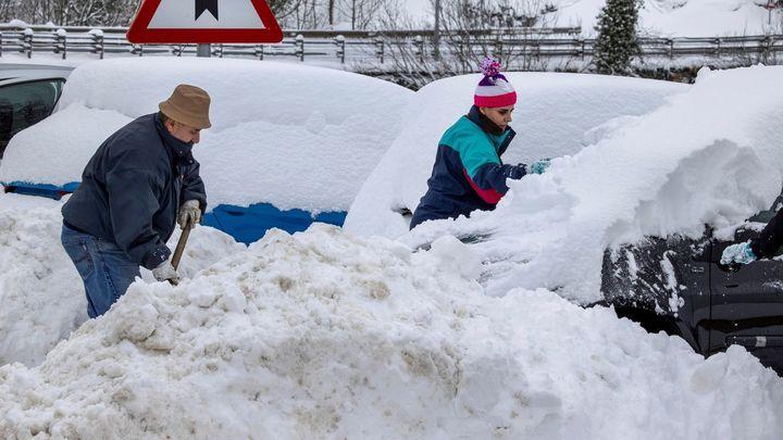 Primera semana de 2021 marcada por el frío y la nieve en toda España