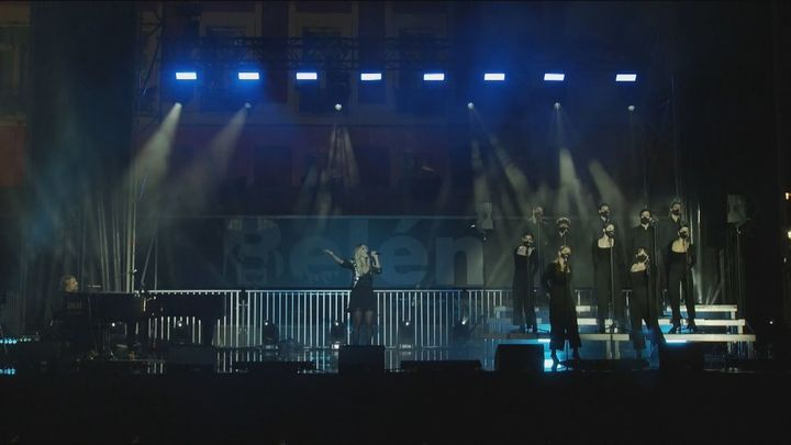 La actuación de Nacho Cano en Nochevieja, un éxito también en las redes sociales