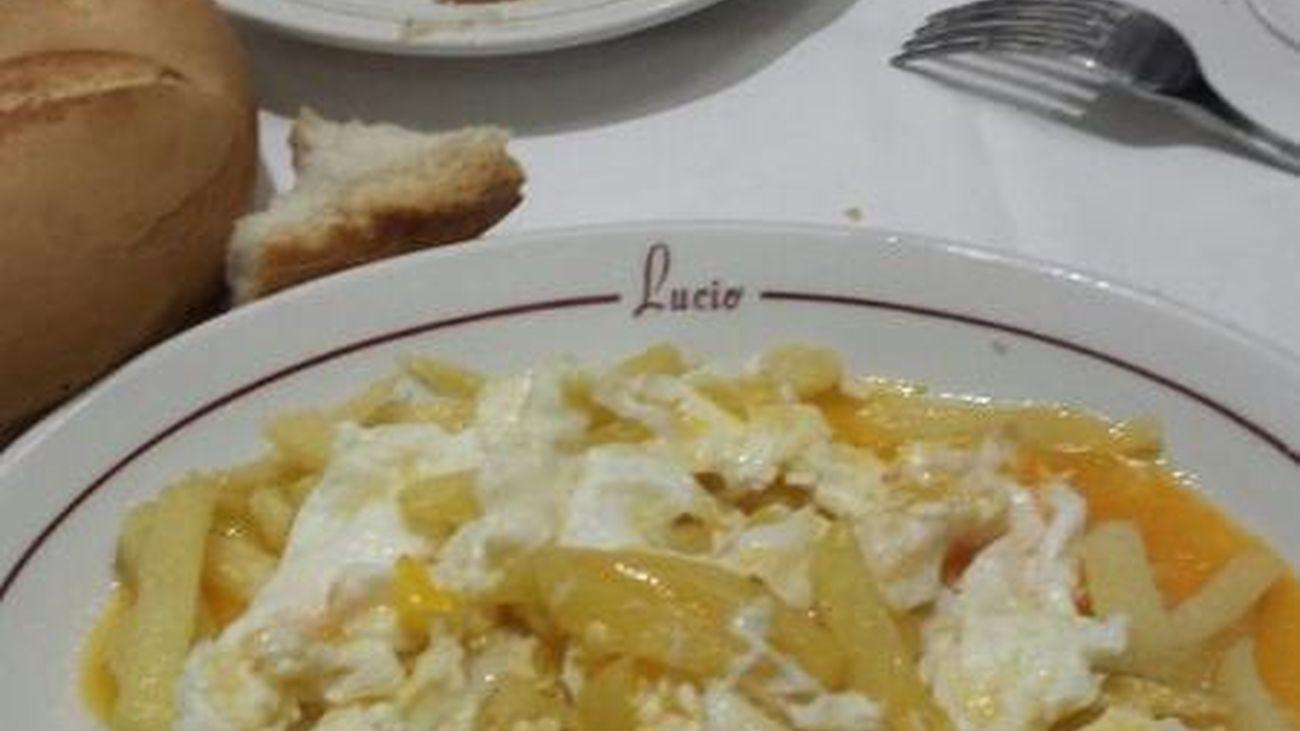 Madrid plato a plato: Huevos estrellados