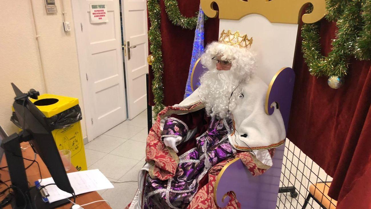 Mucha imaginación con la llegada de los Reyes Magos a Madrid