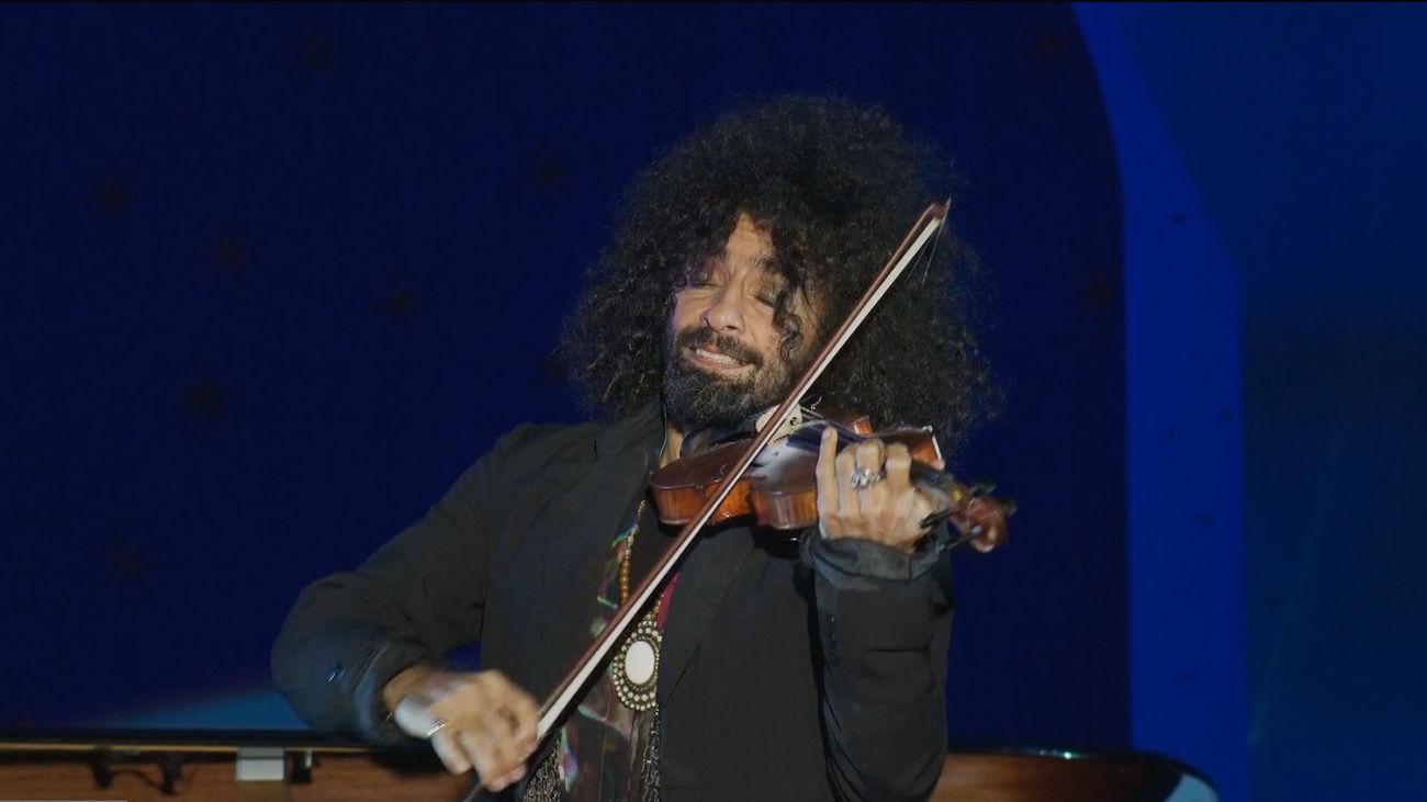 Ara Malikian interpreta una melodía especial para Madrid en la gala de Reyes