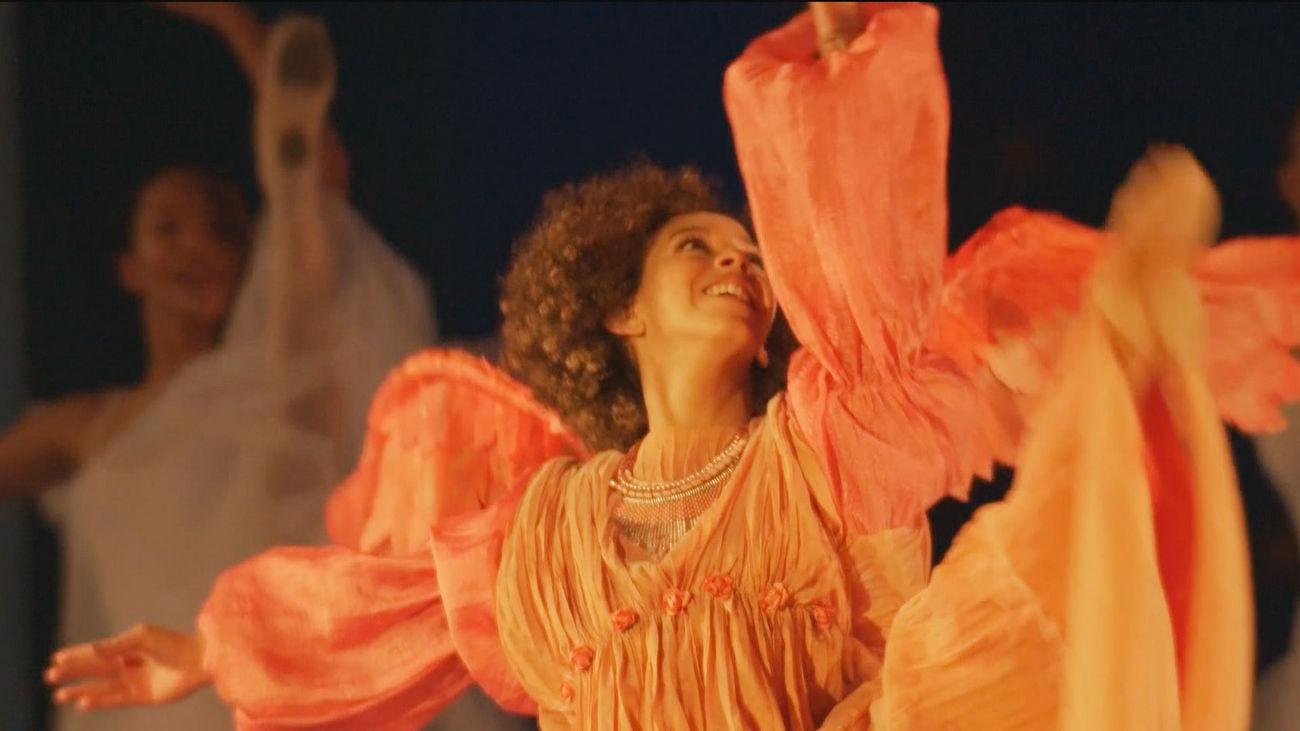 Un ballet de ángeles inaugura la gala de Reyes en Madrid