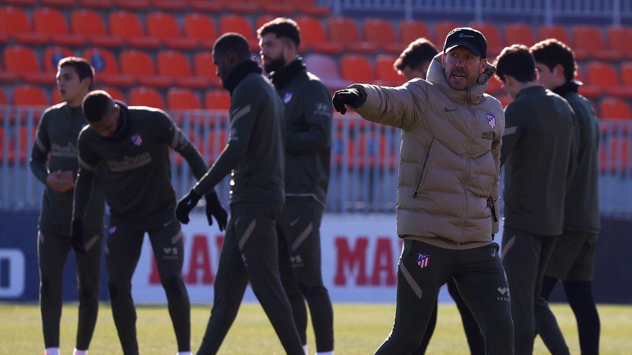 """Simeone:  """"La Copa del Rey fue un encuentro con el 'se puede'"""""""