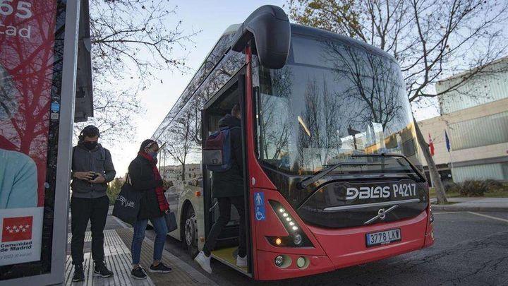 La línea L-2 de Alcorcón incorpora un autobús eléctrico