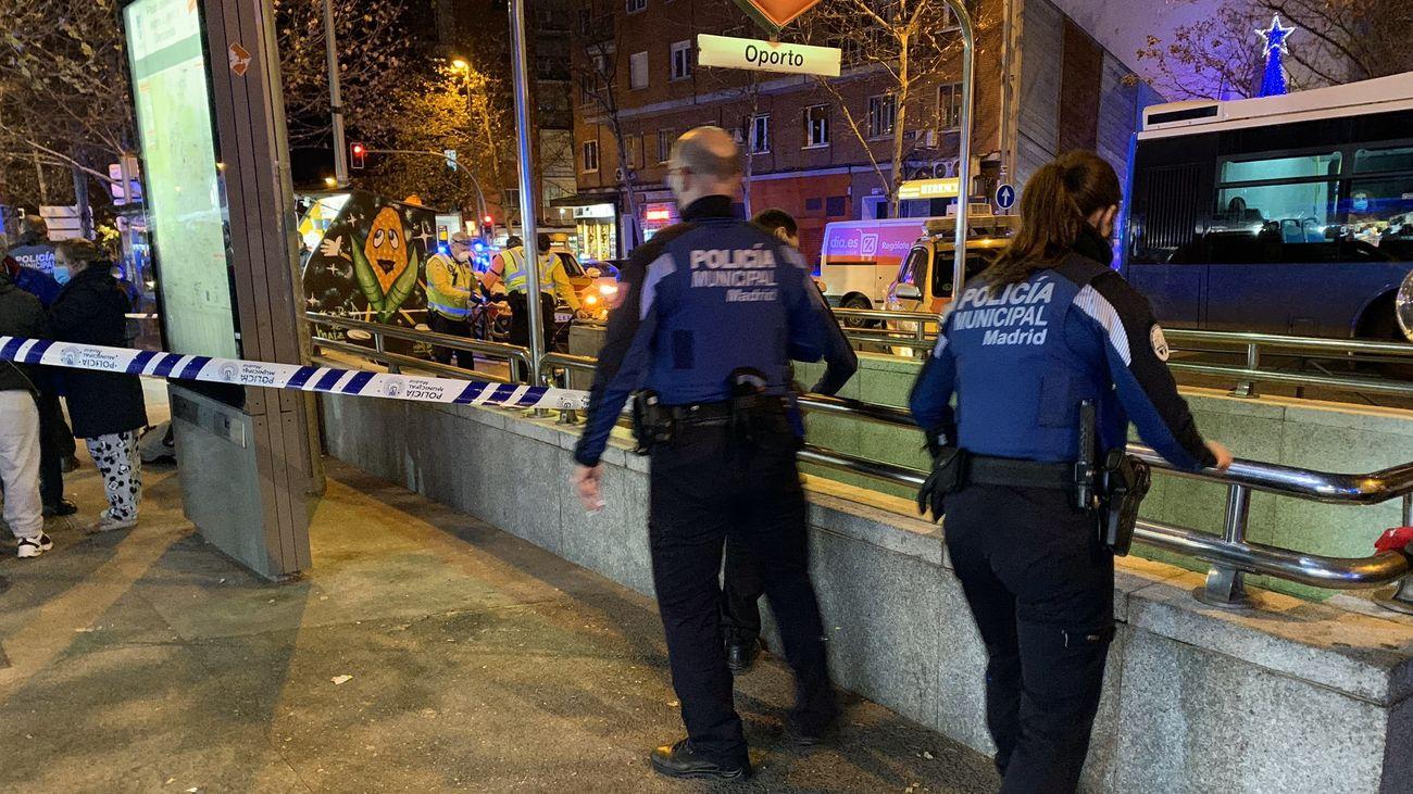 La Policía investiga si una banda latina está detrás de las agresiones en Plaza Elíptica y Oporto