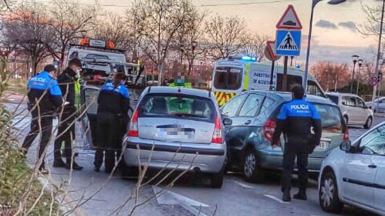 Tres accidentes de tráfico graves en tres días en Alcorcon