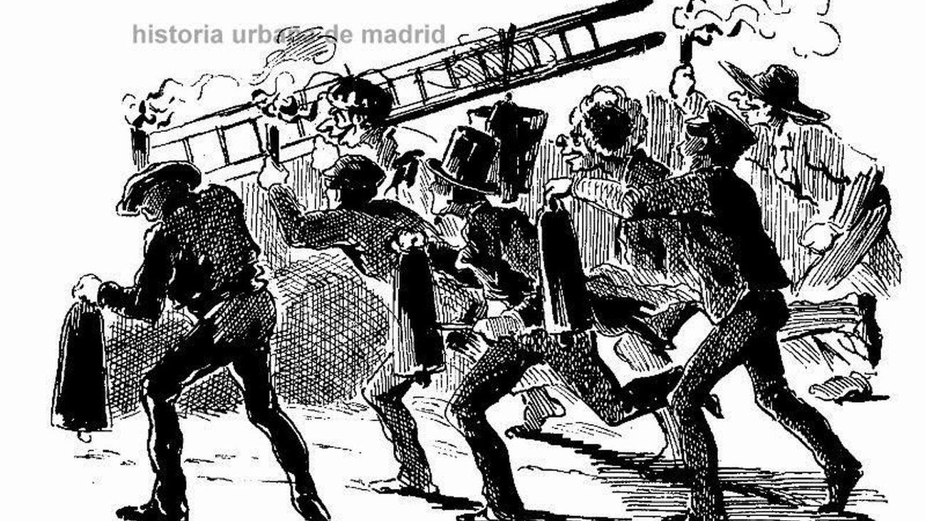 Las comparsas de la Noche de Reyes de 1882