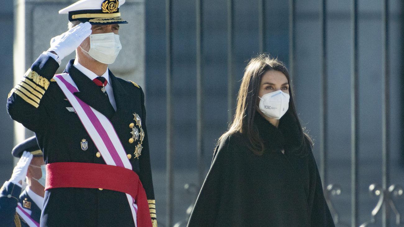 Felipe VI reivindica la Constitución en la Pascua Militar