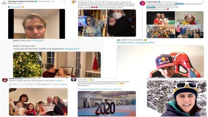 Los grandes del deporte español muestran sus deseos de que todo cambie en 2021