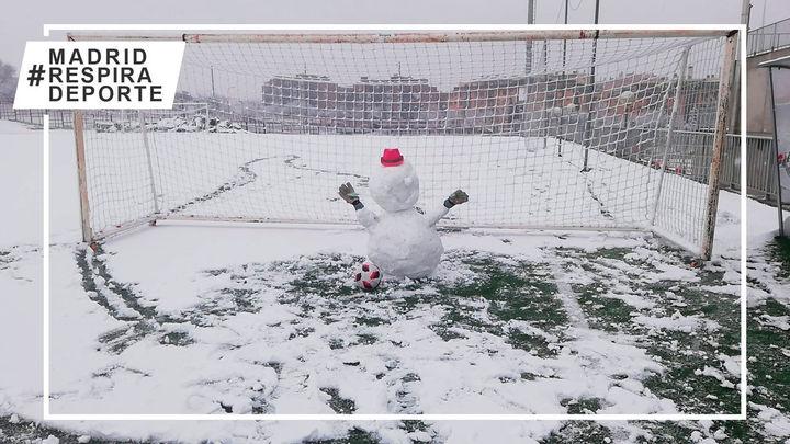 El día que el fútbol madrileño se cubrió de blanco