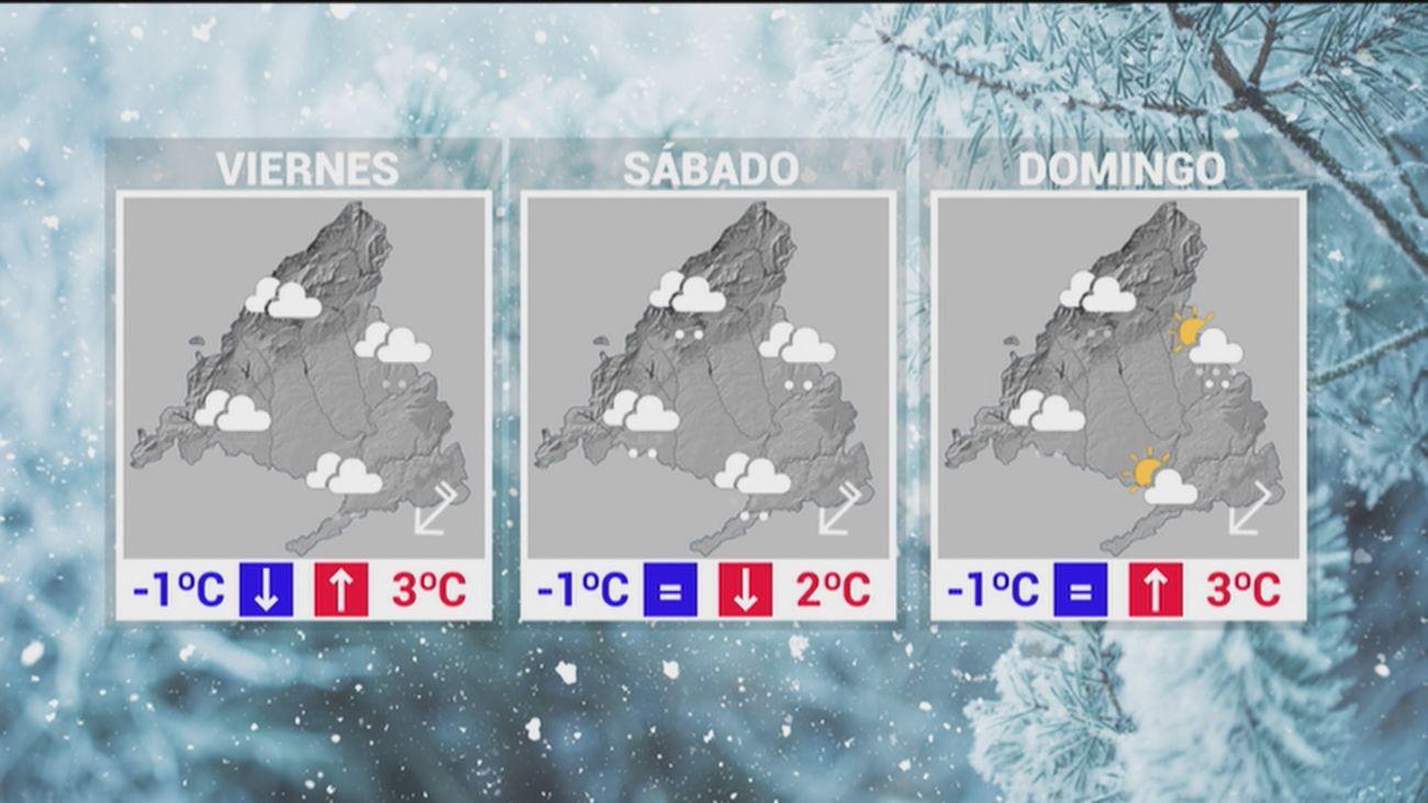 Madrid espera la gran nevada para este viernes y el sábado