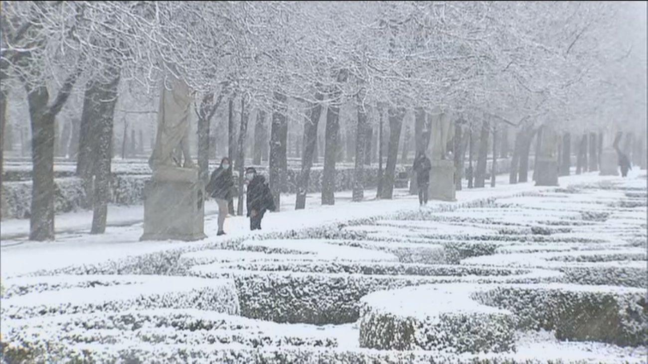 La gran nevada llega a Madrid entre el viernes y el sábado