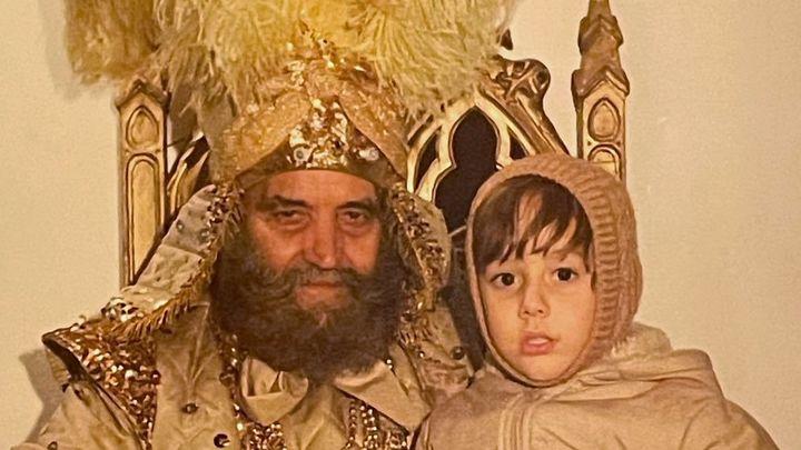 Sandalio, el misterioso rey mago de los 70 y 80 en Goya que Twitter trata de identificar
