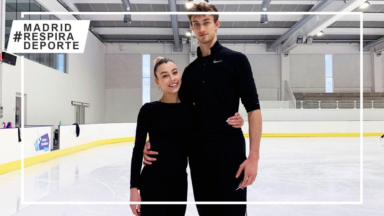 Laura Barquero y Marco Zandron