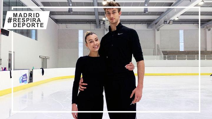 La patinadora madrileña Laura Barquero ya tiene el ok para competir con Marco Zandron