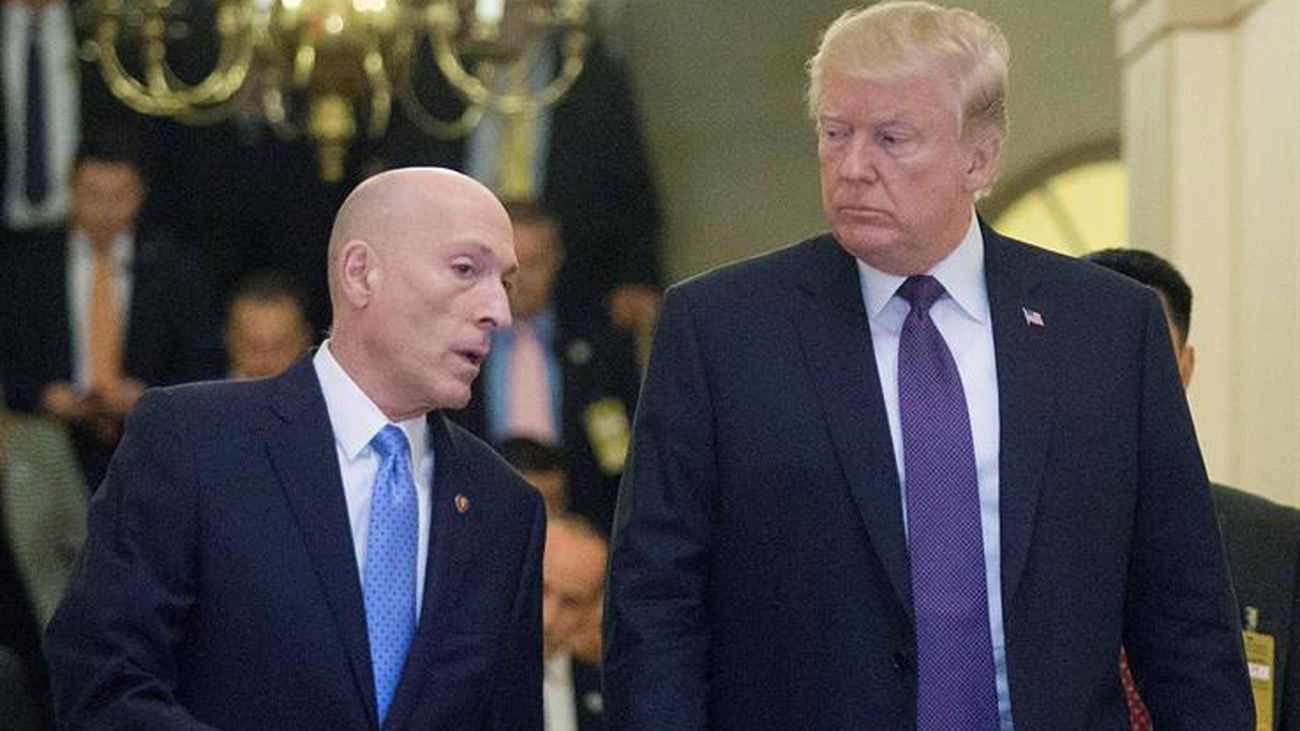 Donald Trump condena el asalto de sus seguidores al Capitolio
