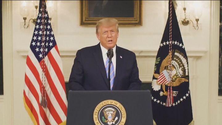 """Trump condena """"indignado"""" el asalto al Capitolio mientras crecen las peticiones para destituirlo"""