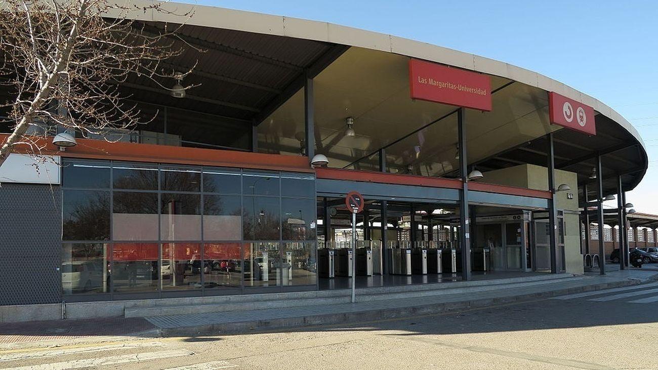 Estación de Las Margaritas-Universidad de Getafe