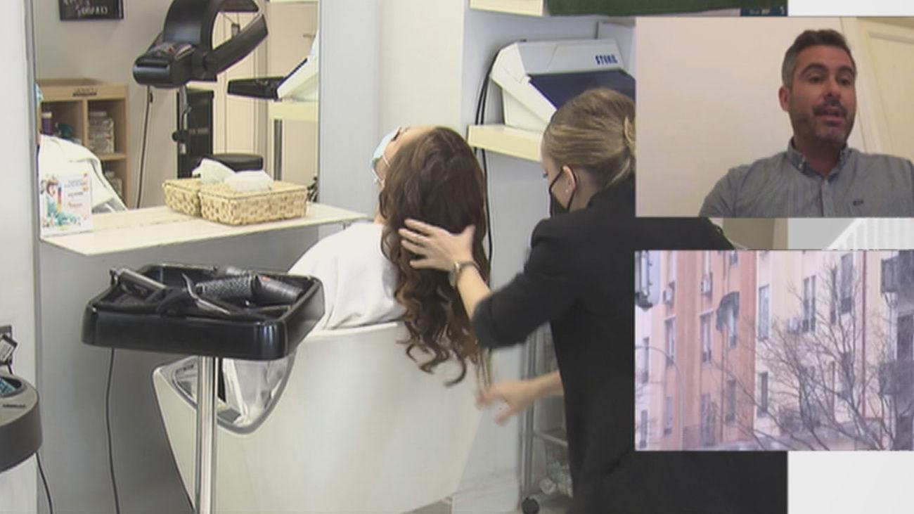 Las peluquerías han tenido pérdidas superiores al 40 por ciento