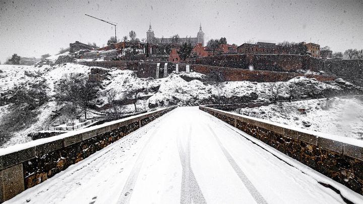 Toledo pide ayuda a la UME por la fuerte nevada
