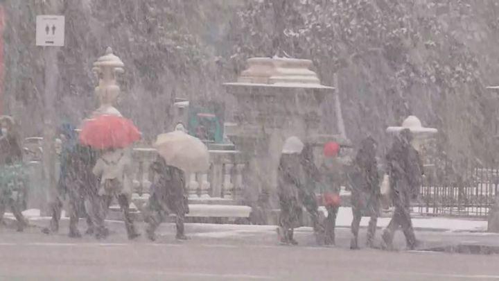 Se confirma que la borrasca Filomena deja la mayor nevada en décadas en Madrid