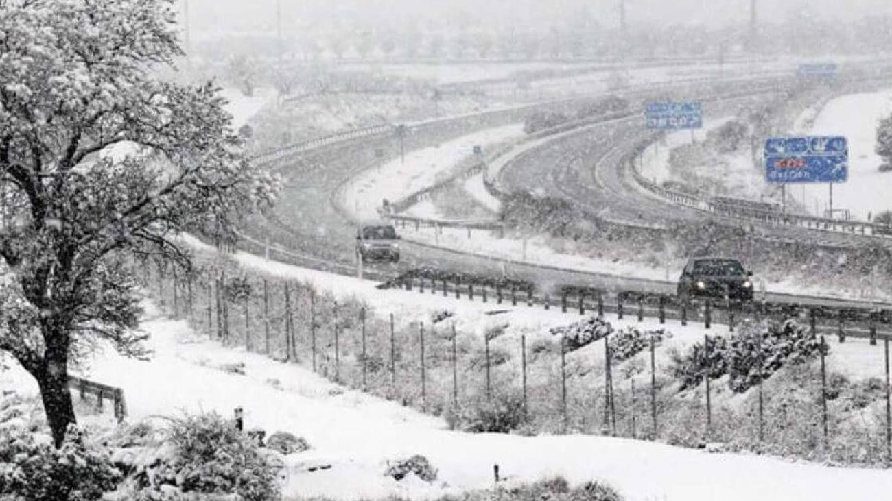 Afectados por el temporal los transportes en tren, aéreos y por carretera