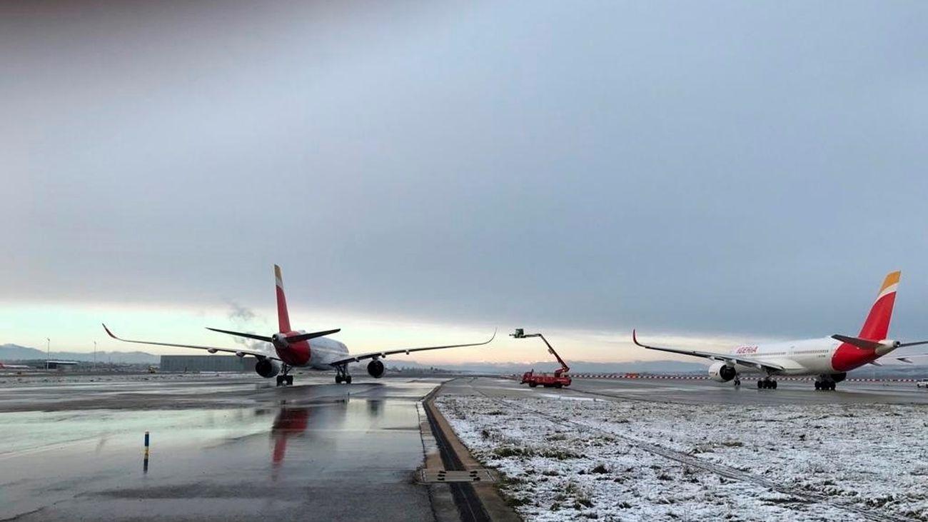 Aviones en Barajas