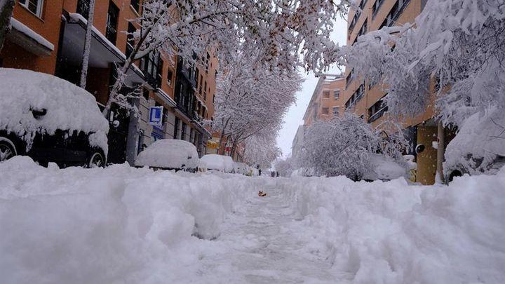Emergencias Madrid desvincula la muerte de una persona en Carabanchel a la nevada