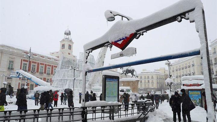Especial - Madrid bajo la nieve  - 09.01.21 (parte 2)