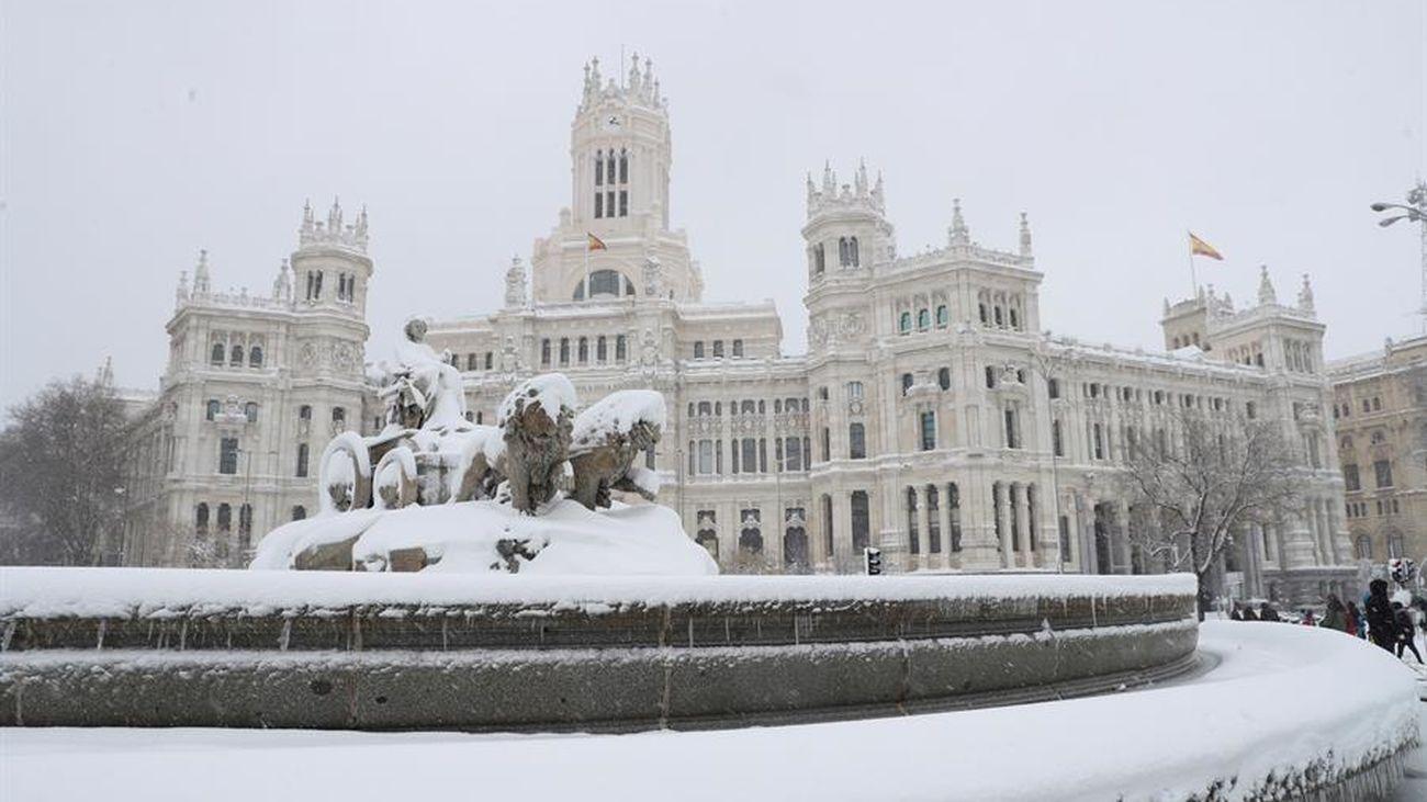 Tras la nieve, Madrid alcanzará temperaturas mínimas que no se  vivían desde 1945