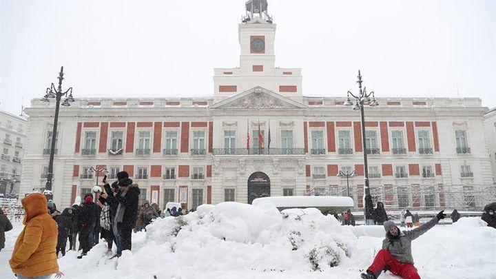 Especial informativo - Nevada Filomena en Madrid (Parte 1)
