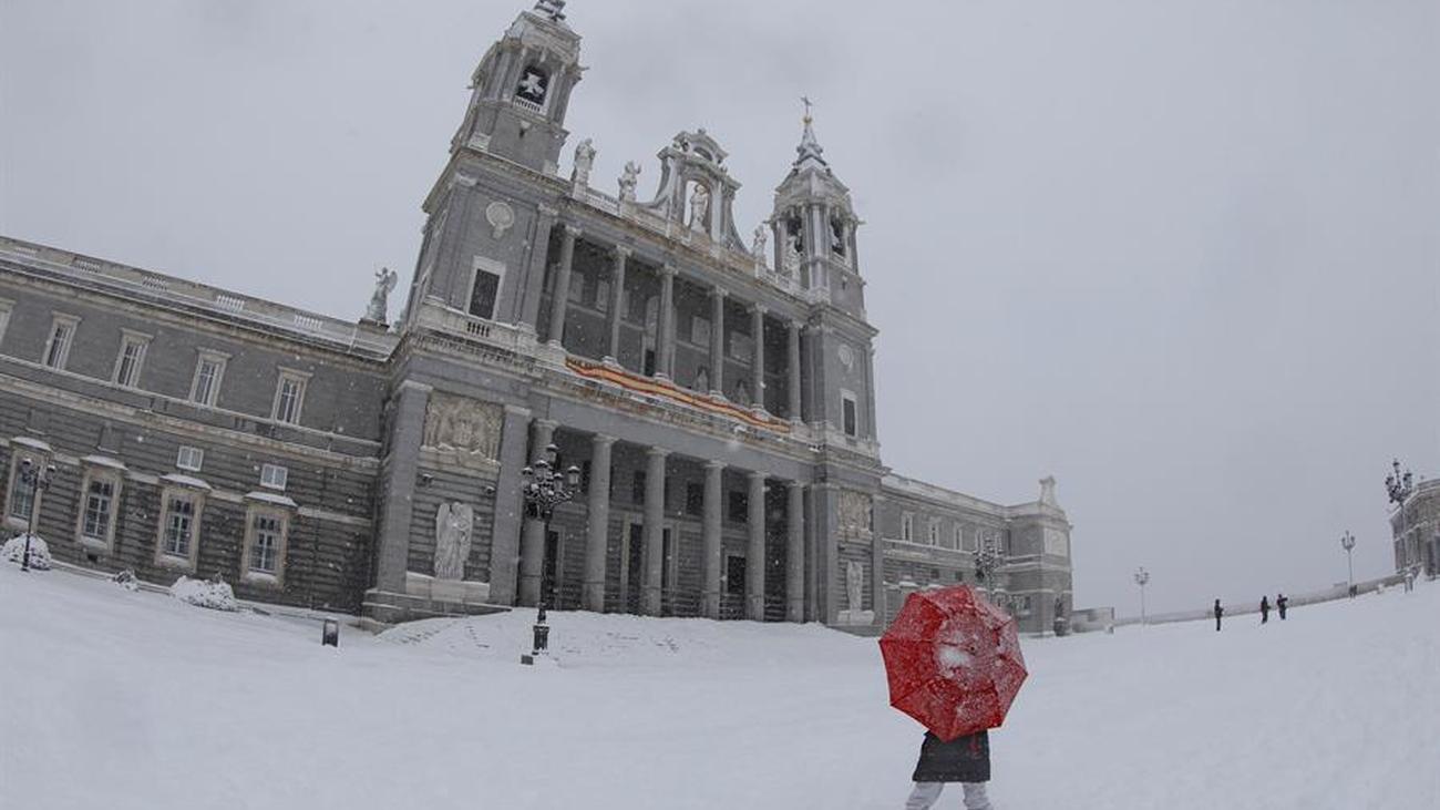 Especial - Madrid bajo la nieve  - 09.01.21 (parte 1)
