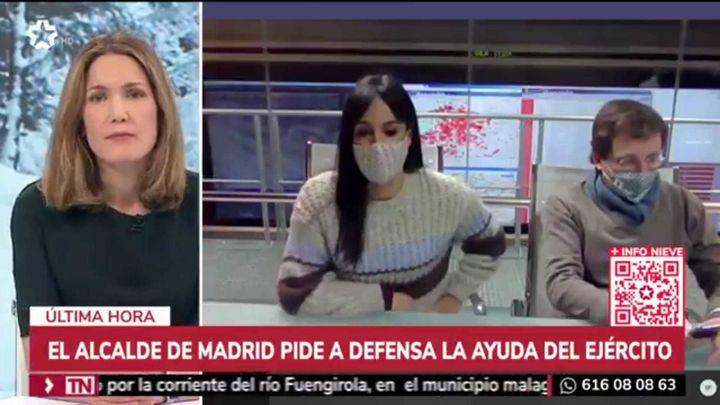 La cobertura de 'Filomena' realizada por Telemadrid y Onda Madrid, reconocida con uno de los Premios Madrid 2021
