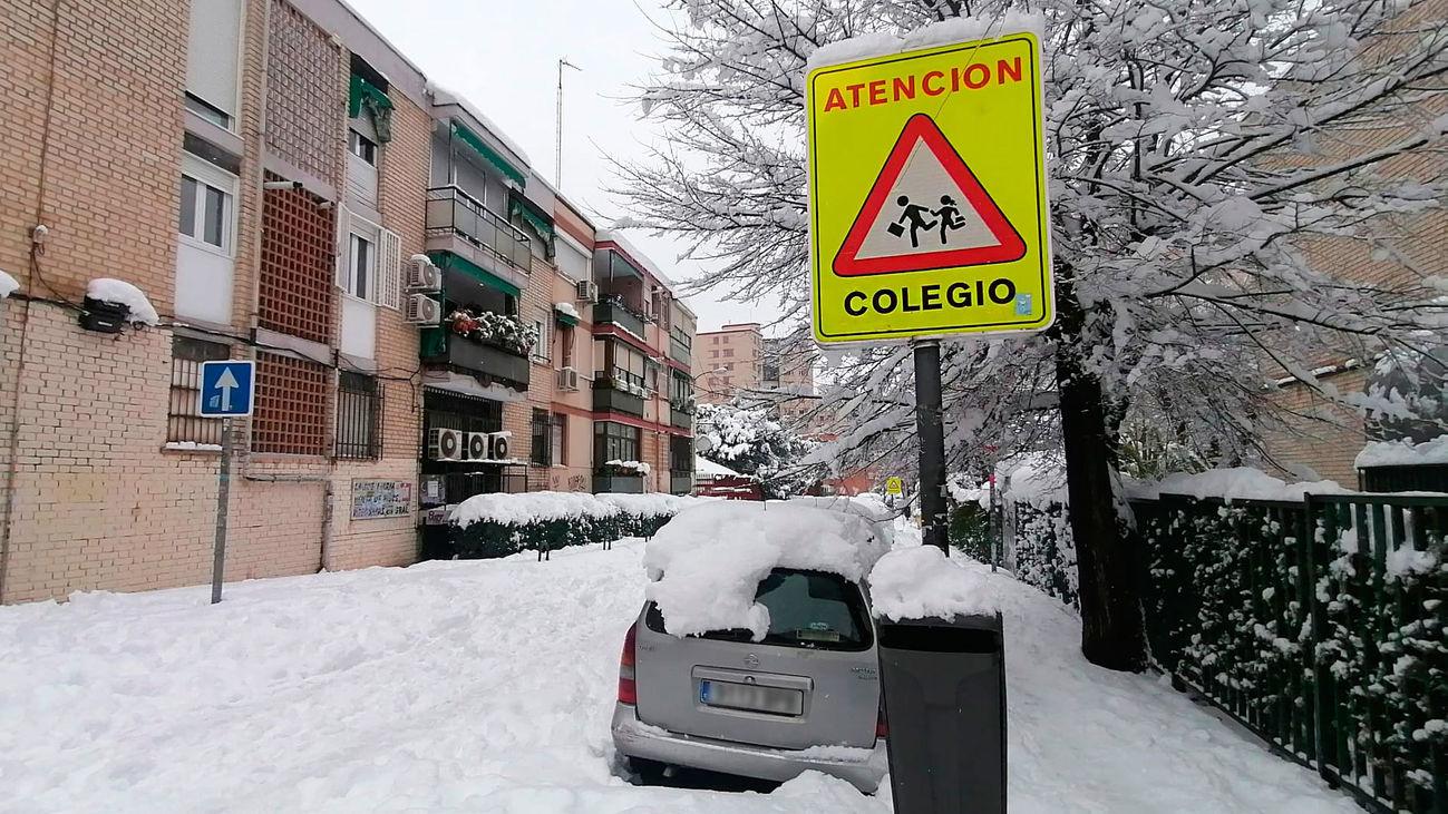 Preocupa la situación en  62 centros escolares en Madrid sin el  acceso garantizado