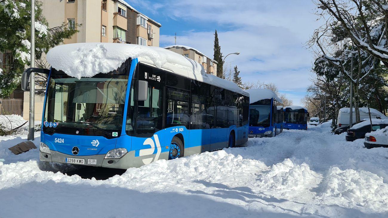 El Metro, el mejor medio para moverse por Madrid al seguir la ciudad sin autobuses de la EMT