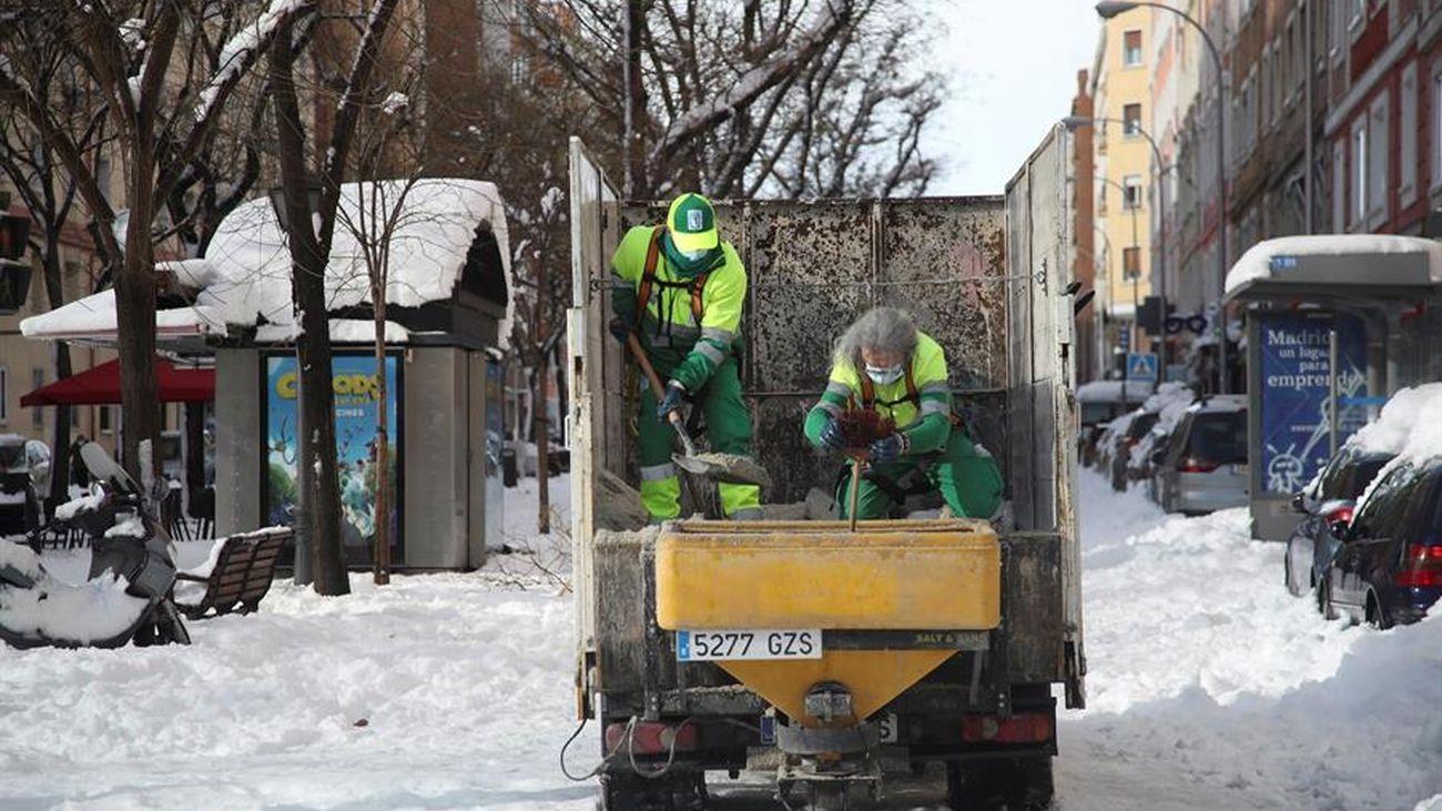 Seis centros de salud y 79 consultorios locales de Madrid, cerrados por la nevada