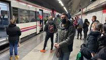 Susto en la estación de Méndez Álvaro, en la C-5 de Renfe, tras una pequeña explosión