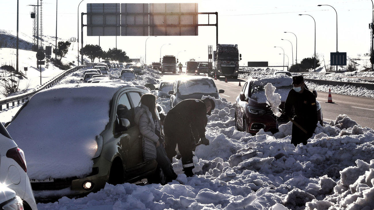 La oposición en la Asamblea de Madrid critica la gestión de la nevada
