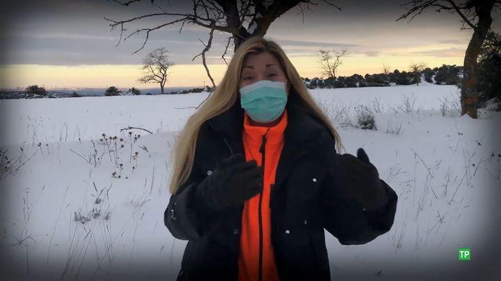 'Mi Cámara y yo' graba de urgencia 'La nevada del siglo', con todo su equipo atrapado por 'Filomena'