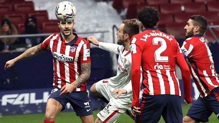 2-0. El Atlético gana al Sevilla y ya es campeón de invierno