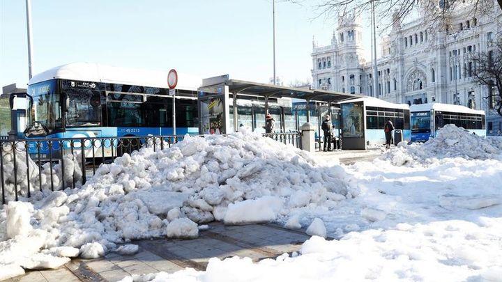 El mapa de Madrid para saber qué calles ya están limpias de nieve